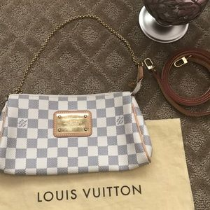 Louis Vuitton mini bag.